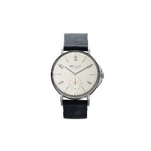 NOMOS Glashütte アホイ 40mm - White, silver-plated