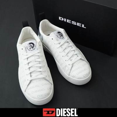 DIESEL(ディーゼル)スニーカーホワイトY02045 P2662 H7269S-CLEVER LOW LACE