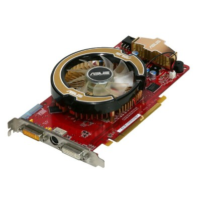 ASUSTeK Computer Radeon HD 3850 512MB DVI *2/TV-out PCI Express x16 EAH3850/G/HTDI/512M【中古】...