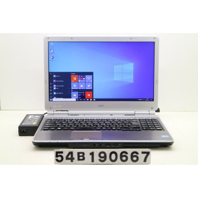 NEC PC-VK27MDZDG Core i5 3340M 2.7GHz/4GB/320GB/DVD/15.6W/FHD(1920x1080)/RS232C/Win10【中古】【20191115】