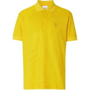 Burberry TB motif polo shirt - イエロー
