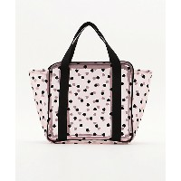 LUDLOW/ラドロー 【ご予約商品】flocked tulle/pvc tote ピンク【三越・伊勢丹/公式】 バッグ~~ハンドバッグ