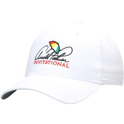 AHEAD パフォーマンス ソリッド 【 ARNOLD PALMER INVITATIONAL PERFORMANCE SOLID ADJUSTABLE HAT BLUE WHITE 】 バッグ...