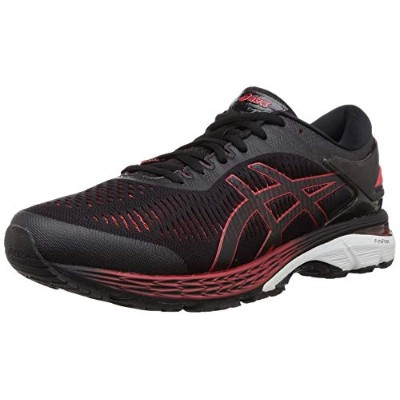 Asics GEL-Kayano 25 [1011A029-004] 2E Wide Men Running Shoes Black/Red-265