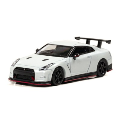 CAR-NEL 1/64 NISSAN GT-R NISMO N Attack Package (R35) 2015 パールホワイト