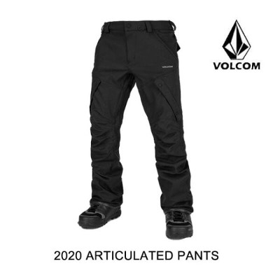 2020 VOLCOM ボルコム パンツ ARTICULATED PANT BLACK