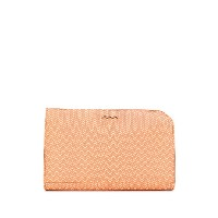 Zanellato textured logo clutch - オレンジ