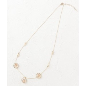 【Sofuol(ソフール)】 トリプルストーンモチーフネックレス OUTLET > Sofuol > アクセサリー > ネックレス ゴールド