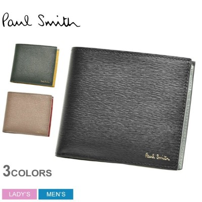 【SALE★最大1000円OFFクーポン】 送料無料 PAUL SMITH ポール スミス 財布 4833 ASTRGR WALLET BF COIN SGRAIN メンズ レディース 本革...