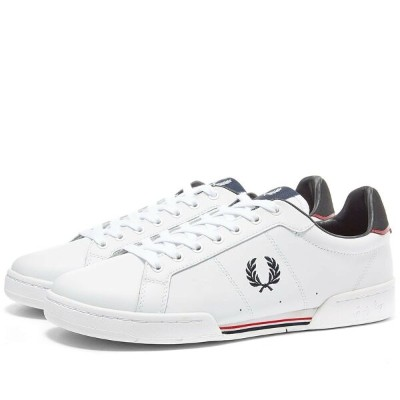 FRED PERRY AUTHENTIC オーセンティック レザー スニーカー 【 B7222 LEATHER SNEAKER WHITE 】 メンズ 送料無料