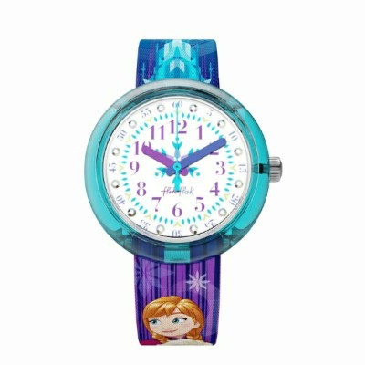 スウォッチ SWATCH ZFLNP027 DISNEY FROZEN ELSA & ANNA SWATCH
