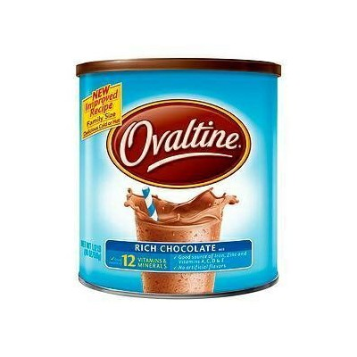 Ovaltine Nutritional Drink、リッチチョコレート、1.12 Lb [2パック] Ovaltine Nutritional Drink, Rich Chocolate, 1.12 Lb [Pack of 2]