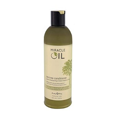 Miracle Oil Conditioner Tea Tree 16oz by Earthly Body