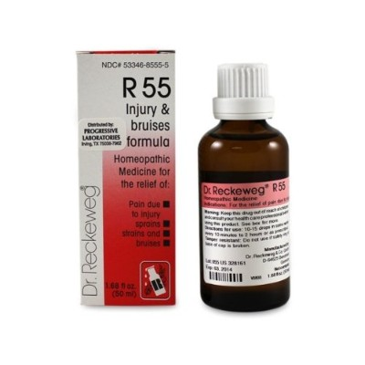 Dr. Reckeweg - Injury and Bruises Formula R55 50 ml by Dr. Reckeweg