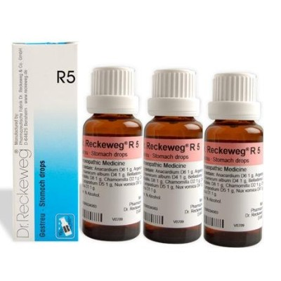 Dr.Reckeweg Germany R5 Stomach Drops by Dr. Reckeweg