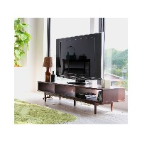 CHIC FURNITURE TV Board 1500○EMK3144 ブラウン 収納家具