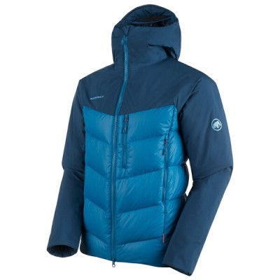 MAMMUT(マムート) Rime Pro IN Hybrid Hooded Jacket AF Men's XL 50255(sapphire-wing teal) 1013-01320