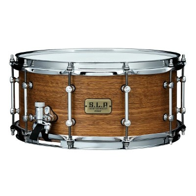 "TAMA LSG1465 SNG S.L.P. Snare Drum 14"" x 6.5"" Bold Spotted Gum スネアドラム"