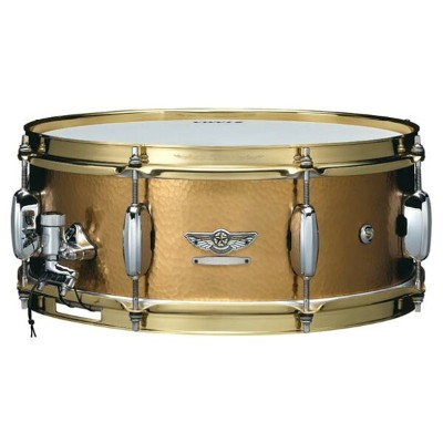"TAMA《タマ》 TBRS1455H [STAR Reserve Snare Drum #6 / Hand Hammered Brass 14"" × 5.5""]"