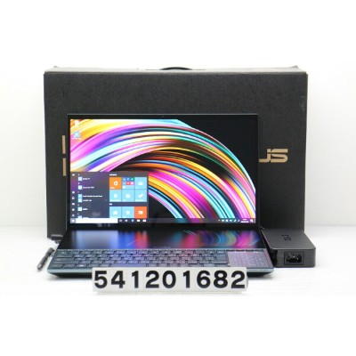 ASUS ZenBook Pro Duo UX581GV Core i7 9750H 2.6GHz/32GB/512GB(SSD)/15.6W/4K タッチパネル/Win10/GeForce...