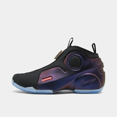 ナイキ メンズ フライトポジット Nike Air Flightposite 2 バッシュ Dark Purple Dust/Total Crimson/Black