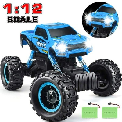 RCカー オフロードラジコンカー DOUBLE E RC Cars Newest 1:12 Scale Remote Control Car with Two Rechargeable...