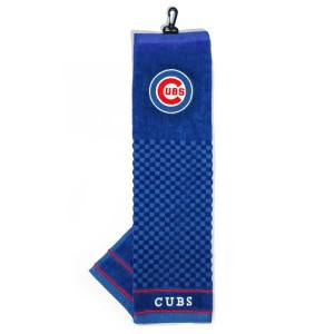 MLB Chicago Cubs Embroidered Golf Towel【ゴルフ その他のアクセサリー>タオル】