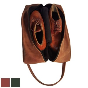 Premium Leather Shoe Bag【ゴルフ バッグ>その他のバッグ】