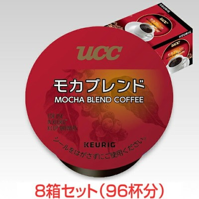 KEURIG K-Cup キューリグ Kカップ UCC モカブレンド 12個入×8箱セット