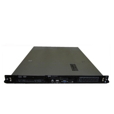 中古 DELL PowerEdge 860 Xeon X3210 2.13GHz 4GB HDDなし DVDコンボ SAS 5iR