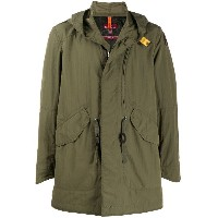 Parajumpers ロゴ パーカーコート - グリーン