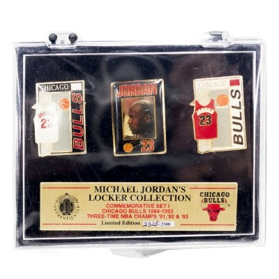 NBA マイケル・ジョーダン シカゴ・ブルズ Locker Collection Commemorative ピンズセット IMPRINTED PRODUCTS