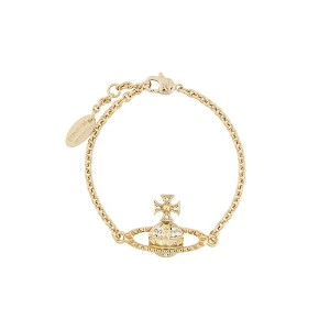 Vivienne Westwood Mayfair Bas Relief チェーンブレスレット - ゴールド