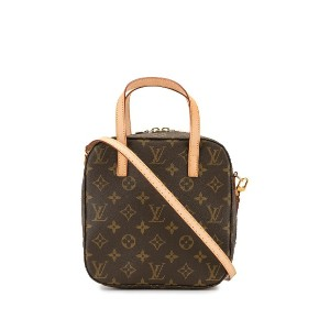 Louis Vuitton Spontini 2way バッグ - ブラウン