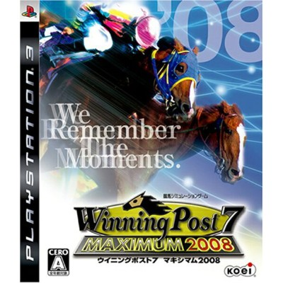 【中古】【PS3】Winning Post7 MAXIMUM2008【4988615028328】【シミュレーション】