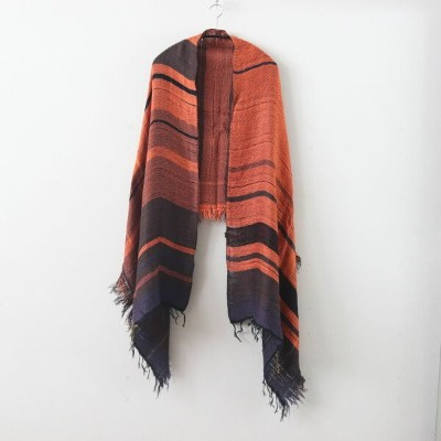 tamaki niime | 玉木新雌 - MOCOTTON SHAWL MIDDLE COTTON100% #ONLY ONE [20A033]