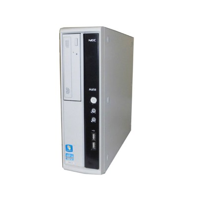 Windows7 NEC Mate MJ33LL-E (PC-MJ33LLZCE) 第2世代 Core i3-2120 3.3GHz 4GB 250GB DVD-ROM 中古パソコン 中古PC...