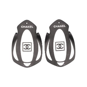 Chanel Pre-Owned 2000s ロゴ スイミングフィン - ブラック