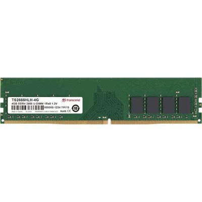 トランセンド TS2666HLH-4G [4GB DDR4 2666 Unbuffered Long-DIMM 1Rx8 (512Mx8) CL19 1.2V 288pin]