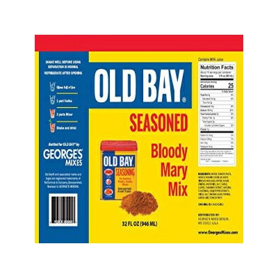 George's Bloody Mary Mix George's Old Bay Seasoned Bloody Mary Mix