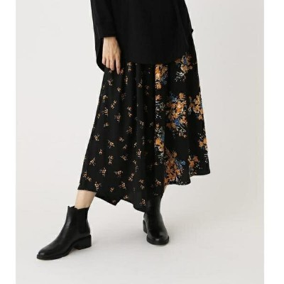 FLORAL ASYMMETRY SKIRT/アズールバイマウジー