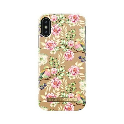 IDEAL OF SWEDEN iPhone X FASHIONケース 17-18A/W CHAMPAGNE BIRDS IDFCS17-I8-65