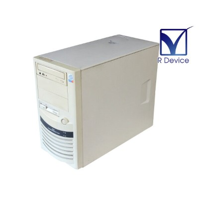 Express5800/110Ef N8100-807 NEC Pentium 4 Processor 1.80GHz/256MB/HDD非搭載/CD-ROMドライブ【中古】