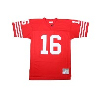 MITCHELL&NESS REPLICA THROWBACK JERSEY (San Francisco 49ers 1990/Joe Montana: Red)ミッチェル&ネス...