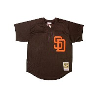 MITCHELL&NESS AUTHENTIC MESH BP JERSEY (Tony Gwynn/No.19/San Diego Padres 1985: Brown)ミッチェル&ネス...