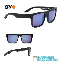 ■ SPY OPTICS スパイ【 DISCORD ディスコード 】【 MATTE BLACK - HAPPY BRONZE w/ BLUE SPECTRA 】HAPPY LENS...