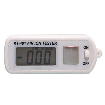 KT-401 Air Ion polarity and concentration Tester Meter Counter -Ve Negative Ions With Peak Maximum...