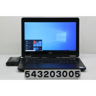 DELL Latitude E5270 Core i5 6300U 2.4GHz/8GB/256GB(SSD)/12.5W/FHD(1920x1080) タッチパネル/Win10 天板ひび【中古】...