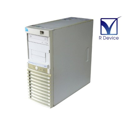 Express5800/GT110a N8100-1495Y NEC Xeon Processor E3110 3.00GHz/2GB/HDD非搭載/DVD-ROM/フロントパネル上部欠品【中古】