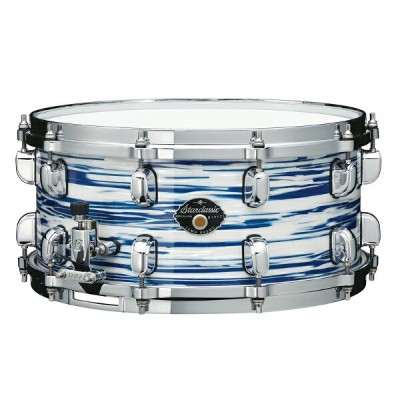 "TAMA MGS465T-BWO [Starclassic Maple 14"" × 6.5"" / Blue & White Oyster Covering Finish / Made in..."